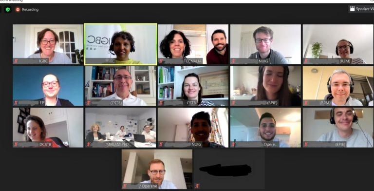 Turnkey Retrofit online meeting June 2020
