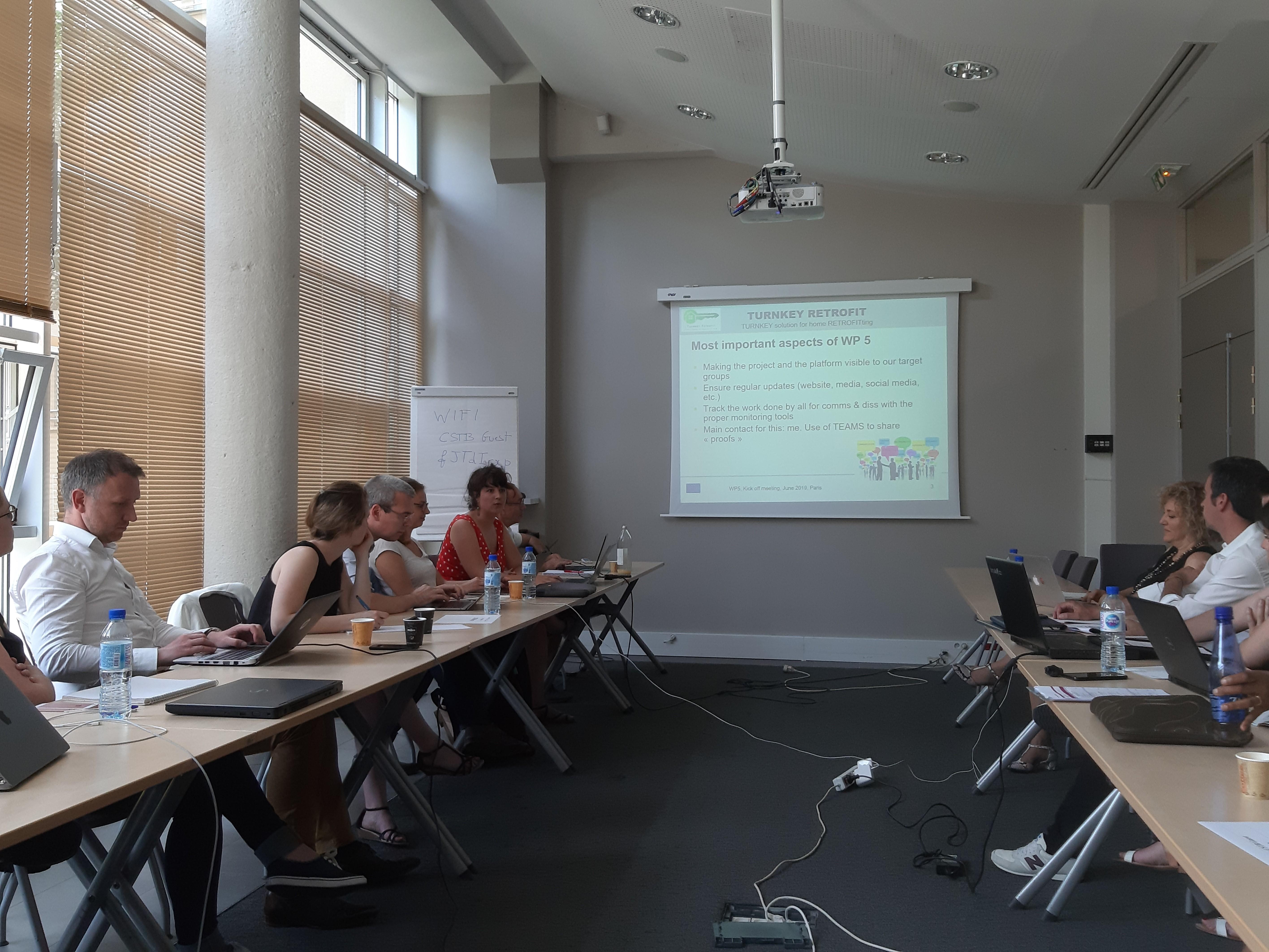 Turnkey Retrofit meeting Paris June 2019